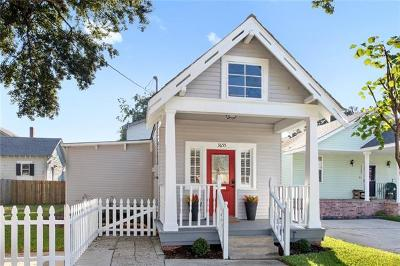 Single Family Home For Sale: 3655 Clematis Street