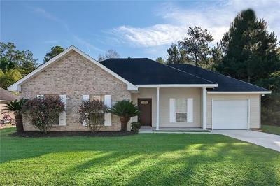 Mandeville Single Family Home For Sale: 70402 Abita Avenue