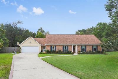 Slidell Single Family Home For Sale: 805 Bobolink Court