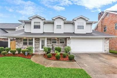Metairie Single Family Home For Sale: 3012 Tolmas Drive