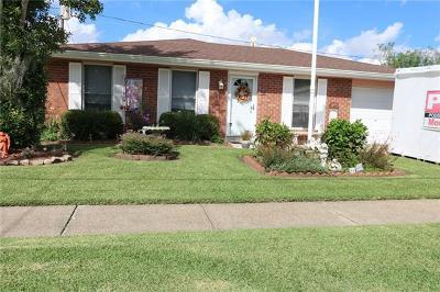 Marrero Single Family Home For Sale: 2737 Dove Avenue