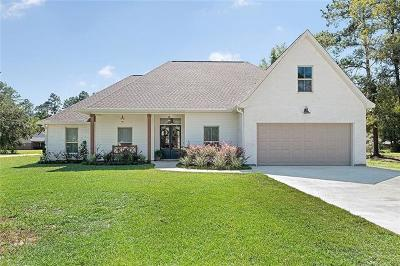 Madisonville LA Single Family Home For Sale: $339,900