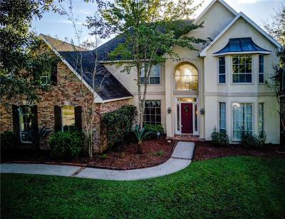 Slidell Single Family Home For Sale: 108 Paradise Point