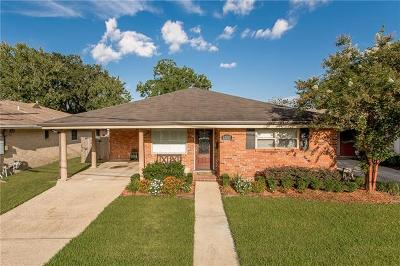 Metairie Single Family Home Pending Continue to Show: 1337 Gardenia Drive