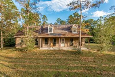 Mandeville Single Family Home For Sale: 23061 Nelita Street