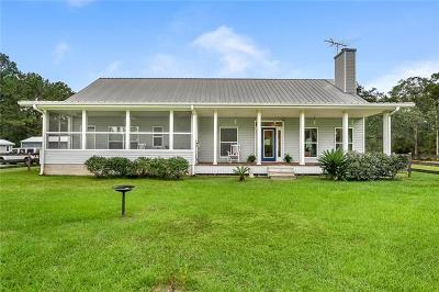 Madisonville LA Single Family Home For Sale: $449,900