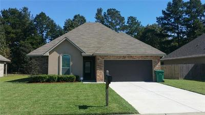 Denham Springs LA Single Family Home For Sale: $173,400