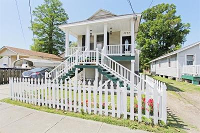 Gretna Single Family Home For Sale: 2208 Lafayette Street