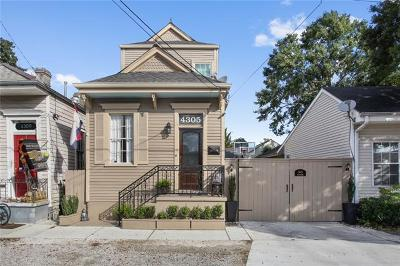 Single Family Home For Sale: 4305 Annunciation Street