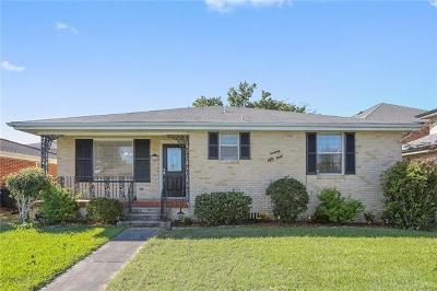 Lakeview Single Family Home For Sale: 7054 General Haig Street