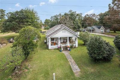 Covington Single Family Home For Sale: 75038 Lenel Road