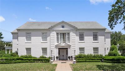 Single Family Home For Sale: 6401 Fontainebleau Drive