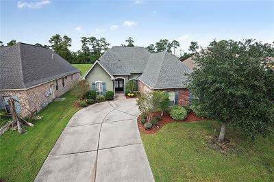 Slidell Single Family Home For Sale: 161 Cypress Lakes Drive