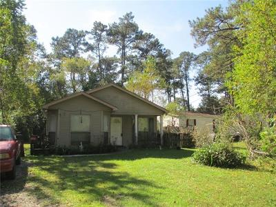 Madisonville LA Single Family Home For Sale: $133,000