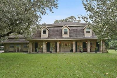 Destrehan Single Family Home For Sale: 13648 River Road