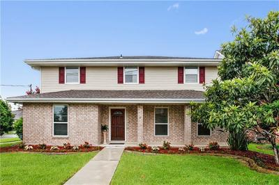 Metairie Single Family Home For Sale: 4700 Perry Drive