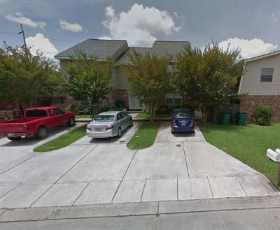 Destrehan, St. Rose Townhouse For Sale: 52a Brandon Hall Drive