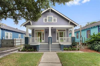New Orleans Single Family Home For Sale: 1013 Jourdan Avenue
