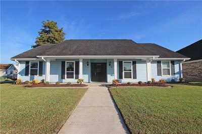 Kenner Single Family Home Pending Continue to Show: 2 Toledo Court