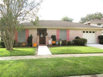 Kenner Single Family Home For Sale: 81 Nassau Avenue