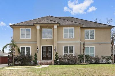 Destrehan Single Family Home For Sale: 18 Belle Helene Drive