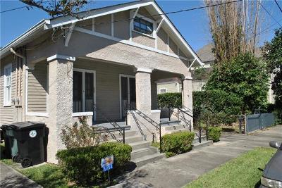 New Orleans Multi Family Home Pending Continue to Show: 1014 Eleonore Street