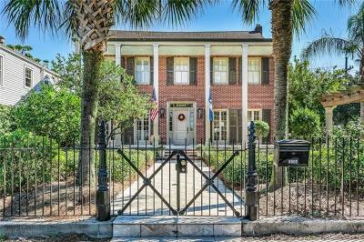 New Orleans Single Family Home For Sale: 6005 Canal Boulevard