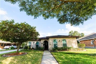 River Ridge, Harahan Single Family Home For Sale: 155 Sedgefield Drive