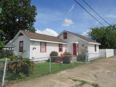 Marrero Single Family Home For Sale: 4044 8th Street