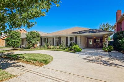 Metairie Single Family Home For Sale: 4817 Lake Louise Avenue