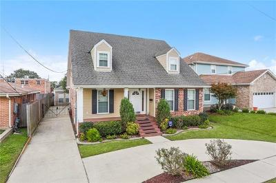 New Orleans Single Family Home For Sale: 6642 Avenue B Street
