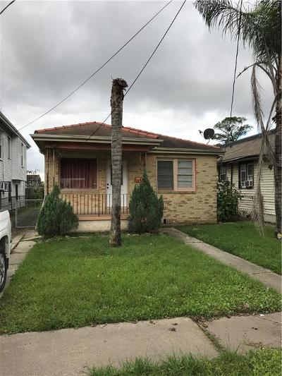 New Orleans Single Family Home For Sale: 8518 Pear Street