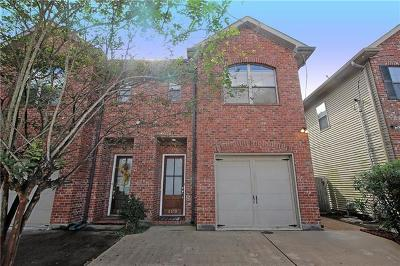 Metairie, Metarie, Metiairie, Metirie, Metrairie Townhouse For Sale: 4418 King Street