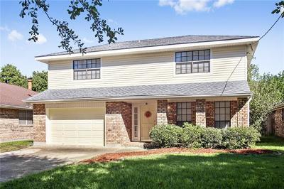Kenner Single Family Home For Sale: 4709 David Drive