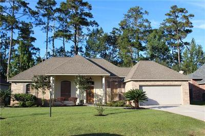 Madisonville LA Single Family Home For Sale: $259,000