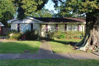 Kenner Single Family Home For Sale: 1413 Maine Avenue
