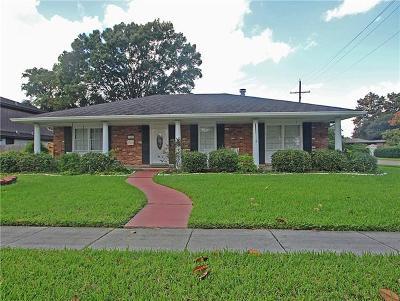Kenner Single Family Home For Sale: 2545 Kansas Avenue