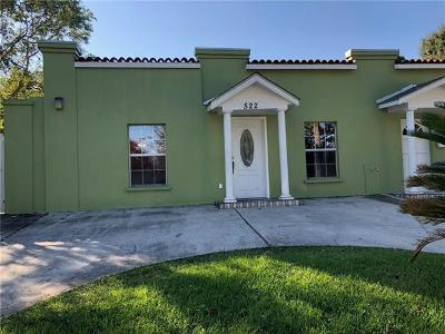 Single Family Home For Sale: 522 Fairlawn Drive