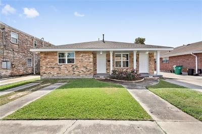 Metairie Multi Family Home For Sale: 4920 Wabash Street
