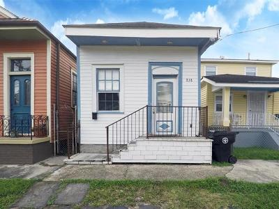 New Orleans LA Single Family Home For Sale: $134,900