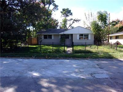 New Orleans Single Family Home For Sale: 3411 Lancaster Street