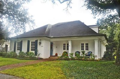 New Orleans Single Family Home For Sale: 5501 Marcia Avenue