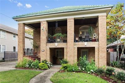 New Orleans Single Family Home For Sale: 2122 S Carrollton Avenue