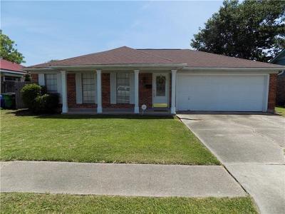 Gretna Single Family Home For Sale: 301 Wall Boulevard