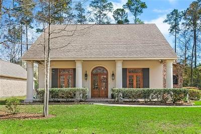 Single Family Home For Sale: 1645 Old Mandeville Lane