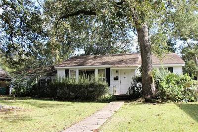 River Ridge, Harahan Single Family Home For Sale: 729 Celeste Avenue