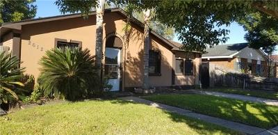 Single Family Home For Sale: 2612 Batiste Drive