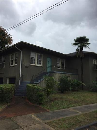 New Orleans Multi Family Home For Sale: 3331 Jefferson Avenue