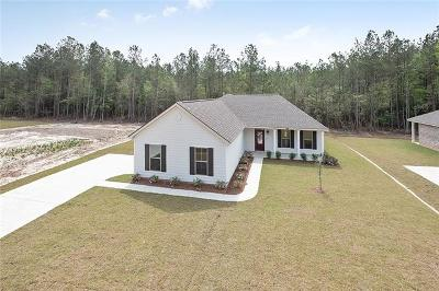 Madisonville Single Family Home For Sale: 720 Perrilloux Trace Avenue