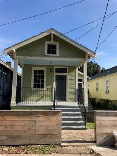 New Orleans Single Family Home For Sale: 8627 Jeannette Street